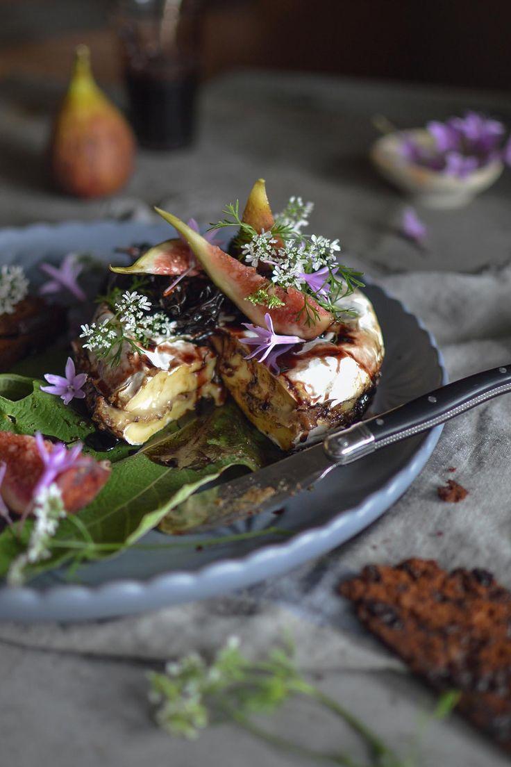 56 best bush food images on pinterest cake recipes cake brie stuffed with porcini black garlic mascarpone forumfinder Gallery