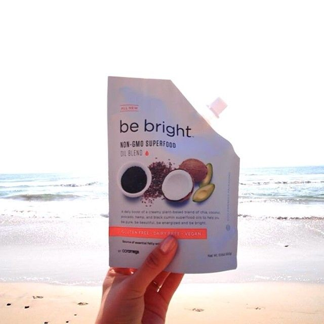 Coromega Be Bright superfoods oil blend is delicious in smoothies, on top of oatmeal, or mixed into vegan yogurt. How did you try it?   Get the full sized version here: http://brinx.it/A0H