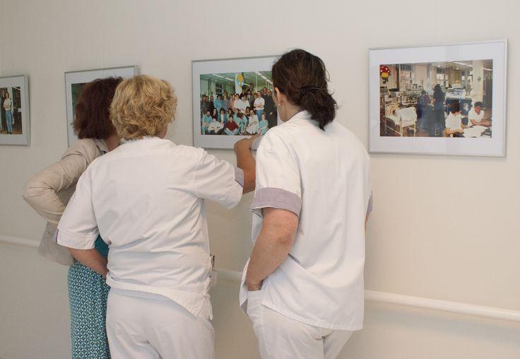 Foto-expositie 'NICU 25 jaar in beeld' 8-06-2015 t/m 31-12-2015 Máxima Medisch Centrum, Veldhoven. Intensive care voor pasgeborenen in Máxima Medisch Centrum bestaat 25 jaar.