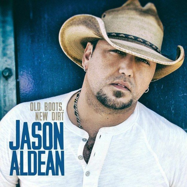 """Country singer Jason Aldean will release his sixth studio album, Old Boots, New Dirt, on Oct. 7 via Broken Bow Records. Here's the album cover: 