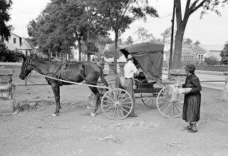 Grocery Buggy Lafayette Louisiana 1938