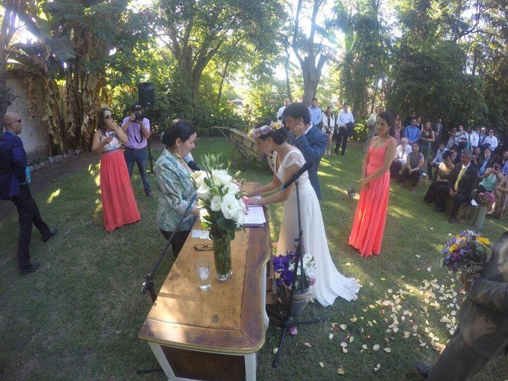 Firmando nuestro compromiso