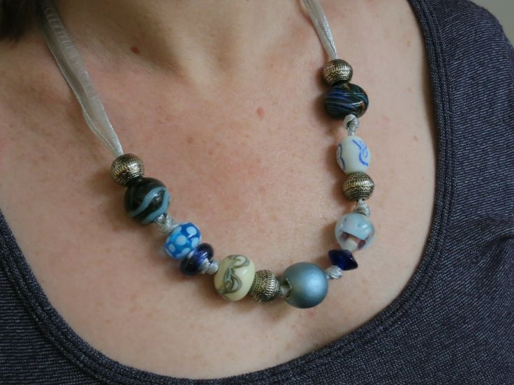 http://purl3agony.hubpages.com/hub/Quick-Easy-Beaded-Ribbon-Necklace