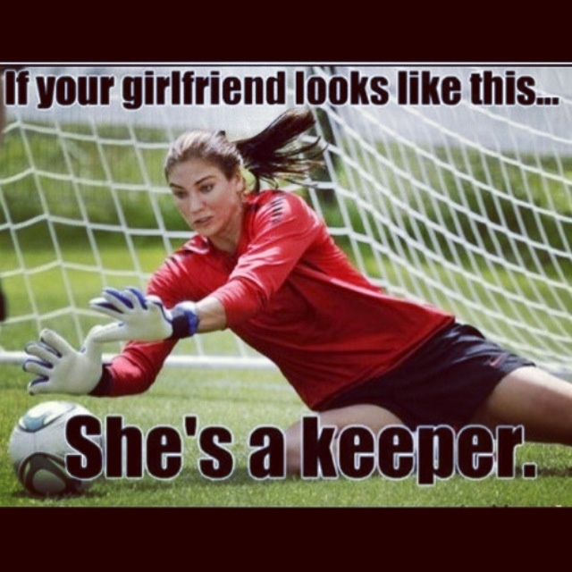 If your girlfriend looks like this, she's a keeper