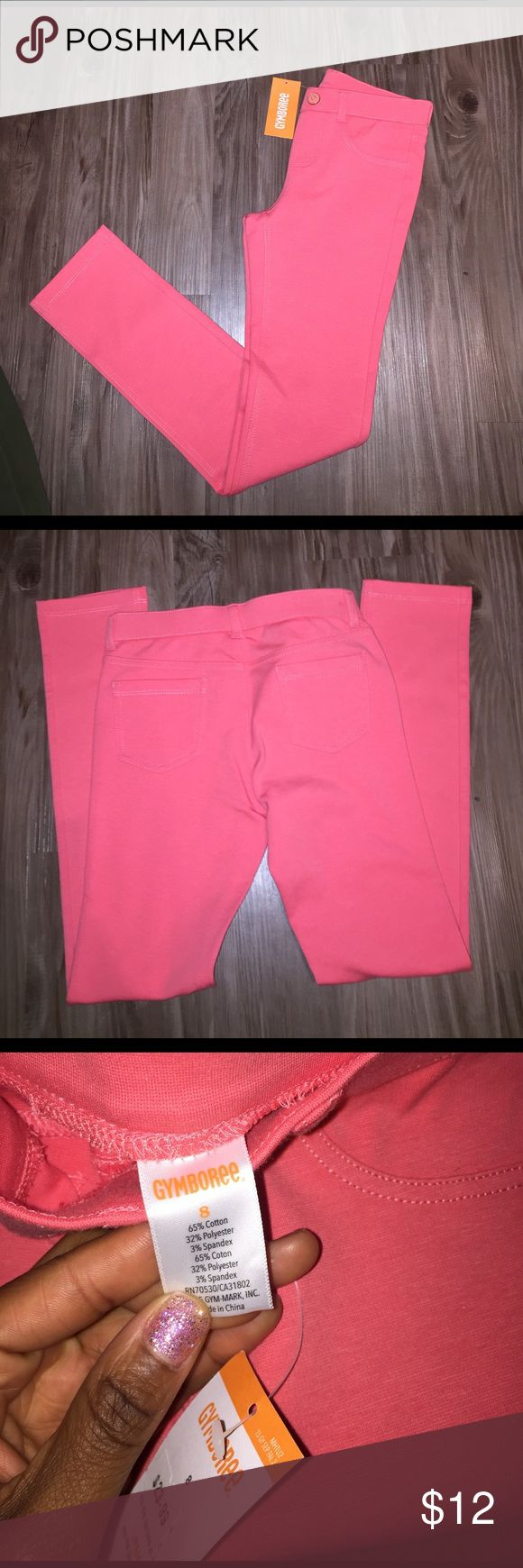 Gymboree peach pants girls Girls pants stretchy size 8 NWT SPRING COLOR! 🌷🌷🌷 fast shipping Gymboree Bottoms Casual