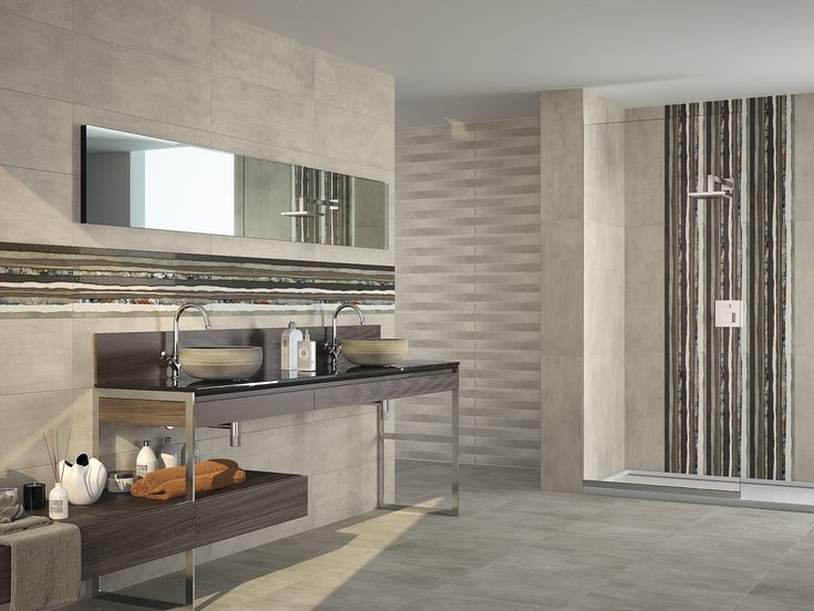 Dune  187152 Origins  29,5X90,1 decorative rectangular tile with craquele effect with glazed finish to be fixed horizontally or vertically, to combined with Cemento neutral color tiles