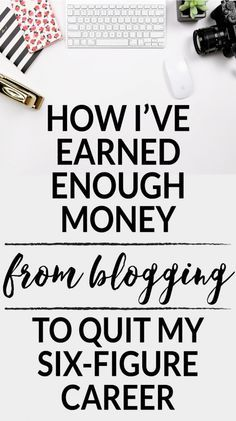 how to quit my job and still make money