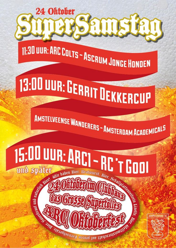 SuperSamstag is coming! See you soon!