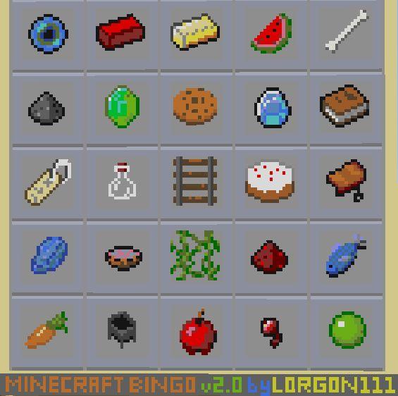 Minecraft Scavenger Hunt - Google Search