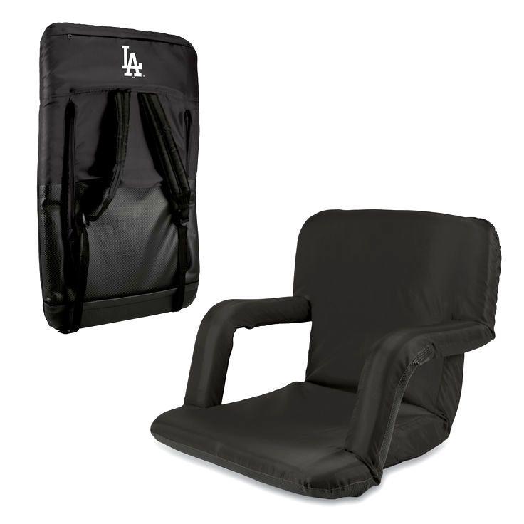 Los Angeles Dodgers Ventura Seat Portable Recliner Chair - Black - $77.95
