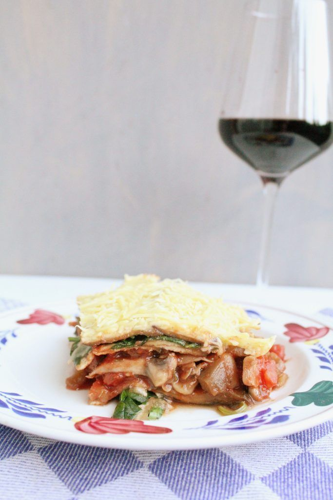 Meatless Monday: Vegetarische aubergine lasagne