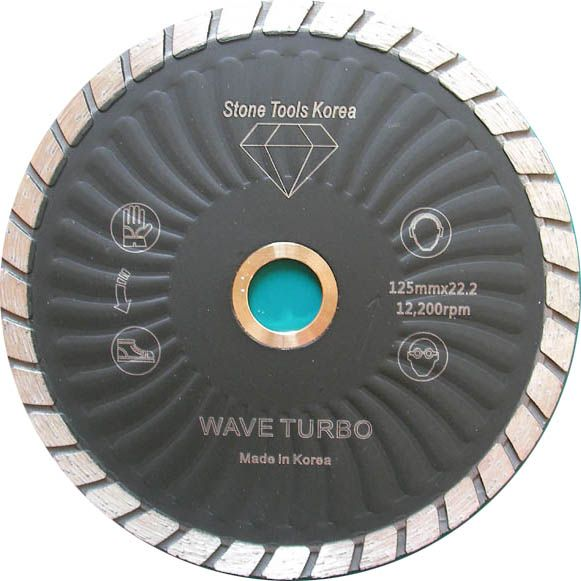 Waved Turbo Blades made by RM Tech Korea (StoneTools Korea®)
