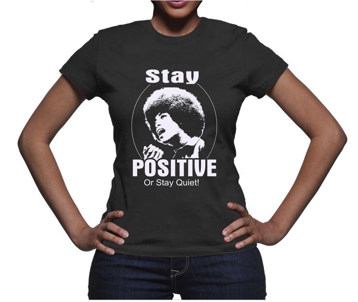 New Stay Positive Afrocentric Black Pride Black Girls Rock Black Power T-Shirt | Clothing, Shoes & Accessories, Women's Clothing, T-Shirts | eBay!