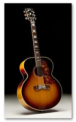 Vintage 1959 Gibson J-200 Flat Top Acoustic Guitar