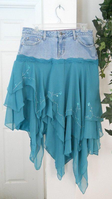 17 Best ideas about Blue Jean Skirts on Pinterest | Long jean ...