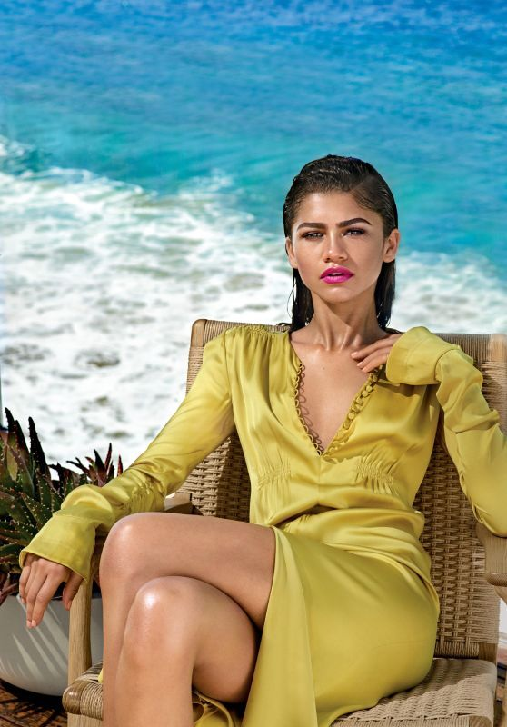 #Zendaya - Photoshoot for Allure Magazine January 2017