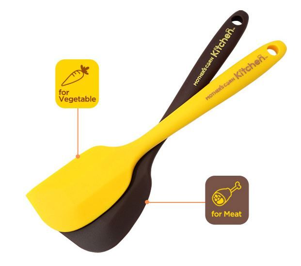 Mother's Corn Silicone Spatula | Available at www.kidsberry.com.au