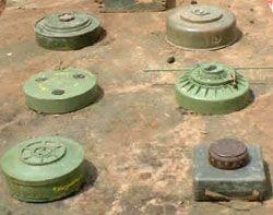 Landmines in Congo DRC disrupt farmer's livelihoods