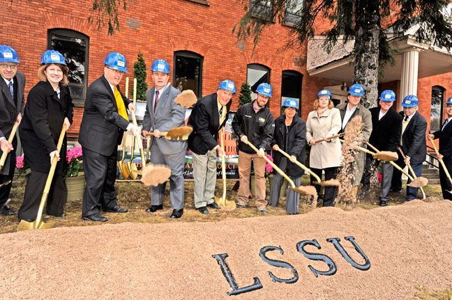 Capital campaign exceeds goal, ground gets broken for South Hall