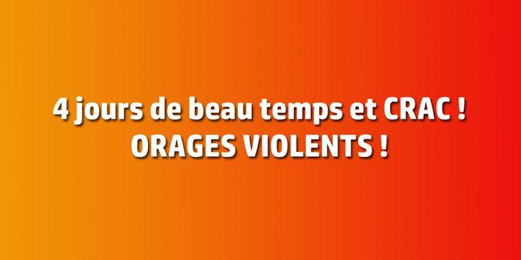 LA LORRAINE EN ALERTE ORANGE JUSQU'À JEUDI MATIN - http://www.le-lorrain.fr/blog/2016/07/20/lorraine-alerte-orange-jusqua-jeudi-matin/