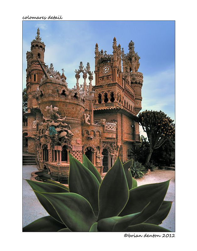 Castillo Colomares, Costa del Sol, Spain