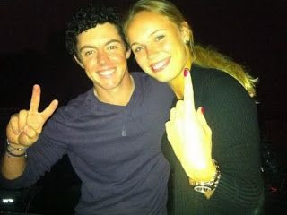Chatter Busy: Rory McIlroy And Caroline Wozniacki Engaged (Engagement Ring Photo)