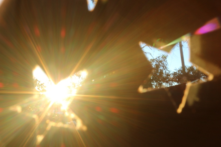 light flared stars