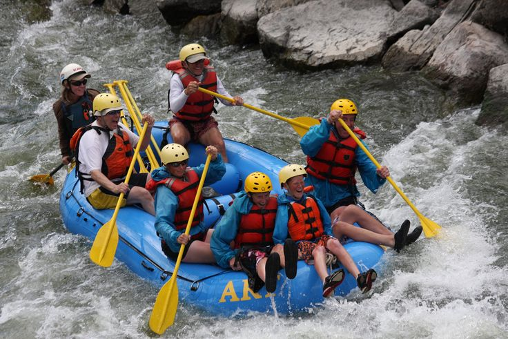 Rafting trips occur on two awesome waterways in White Water Rafting Colorado River, Clear Creek only west of Denver.