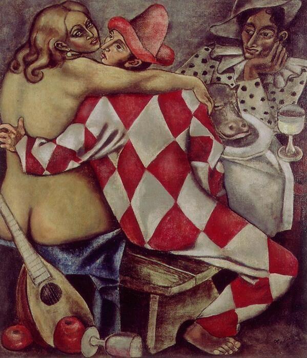 Federico Cantú「Arlequines」(1930)