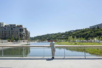 La nature en ville dans le quartier de La Confluence - Lyon Confluence