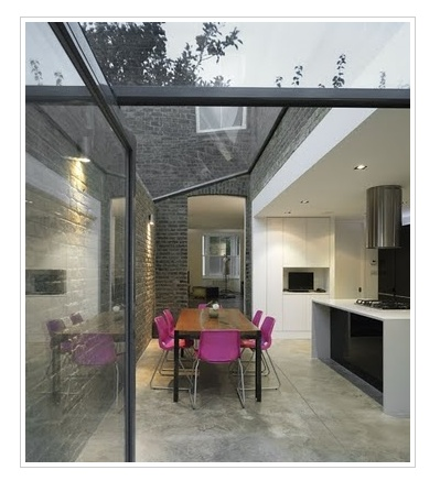 Glass extension | amazing kitchen
