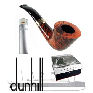 One of the best smoking accessories from Dunhill. It is made of Amber Root finishing with an 18ct Gold band. Please see more details our website. #Dunhill #pipes #uk