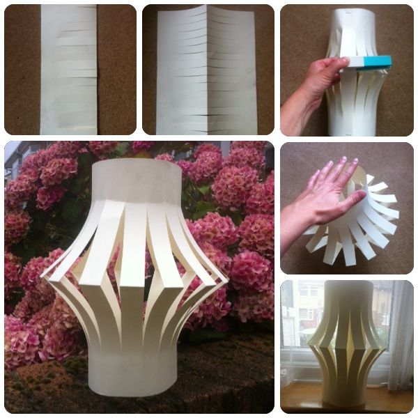 21 papercraft ideas How to make a paper lantern