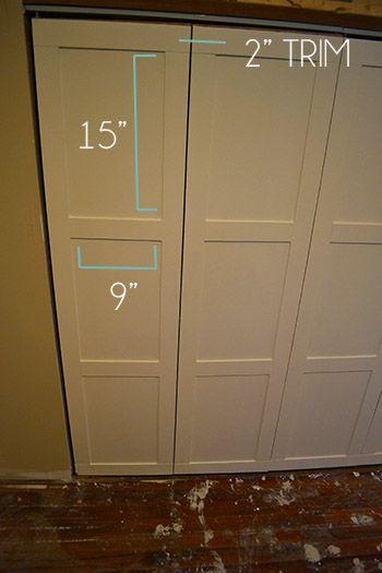 1000 Ideas About Folding Closet Doors On Pinterest
