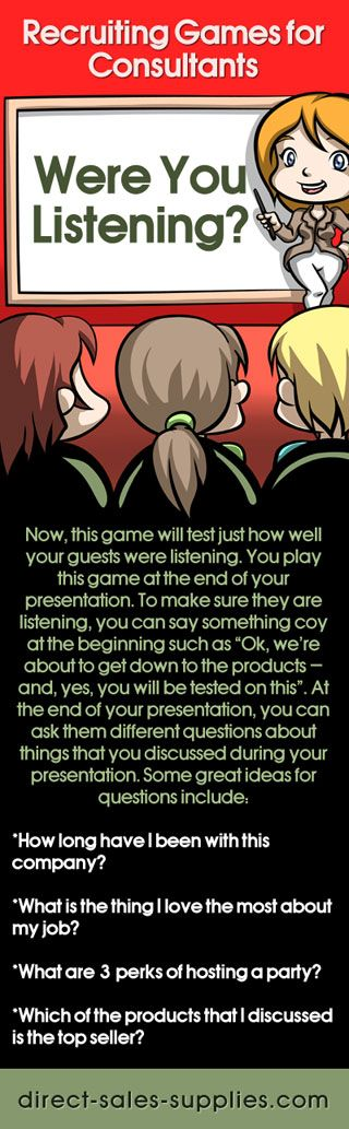 Direct Sales Party Games  Games to Make Your Guests Listen