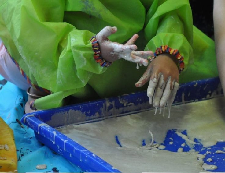Making magic sand
