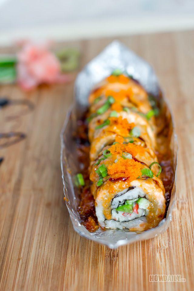 Lipn King Sushi roll