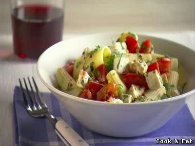 Ригатони с помидорами и сыром Моцарелла - 16 Декабря 2014 - Cook and Eat
