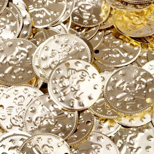 1000pc BellyLady Belly Dancing Coins, With Bird Design On One Side $16.99 (82% OFF)