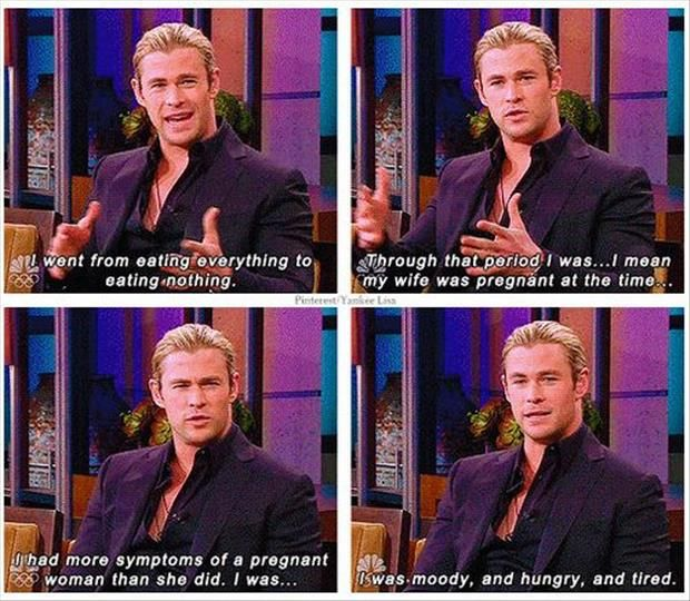 Chris Hemsworth on his transition from Thor to Snow White & the Huntsman (i think)... here it is, sis. hehehehe