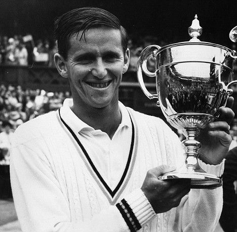 The Roy Emerson forehand volley rated #3 all time by Steve Flink in his book THE GREATEST TENNIS MATCHES OF ALL TIME here http://www.amazon.com/gp/product/0942257936?ie=UTF8&tag=newchapre-20&linkCode=shr&camp=213733&creative=393185&creativeASIN=0942257936&qid=1339171252&ref_=sr_1_1&sr=8-1