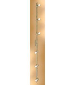 EGLO 86157 - Bodové svítidlo NANDO 6xG9/40W matná mosaz