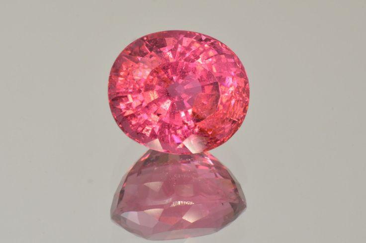 Astounding Rubellite Tourmaline from Mozambique MdMaya Gems http://mdmayagems.com/collections/red-pink/products/intense-rubellite-tourmaline-from-mozambique-oval-cut-6-25-ct