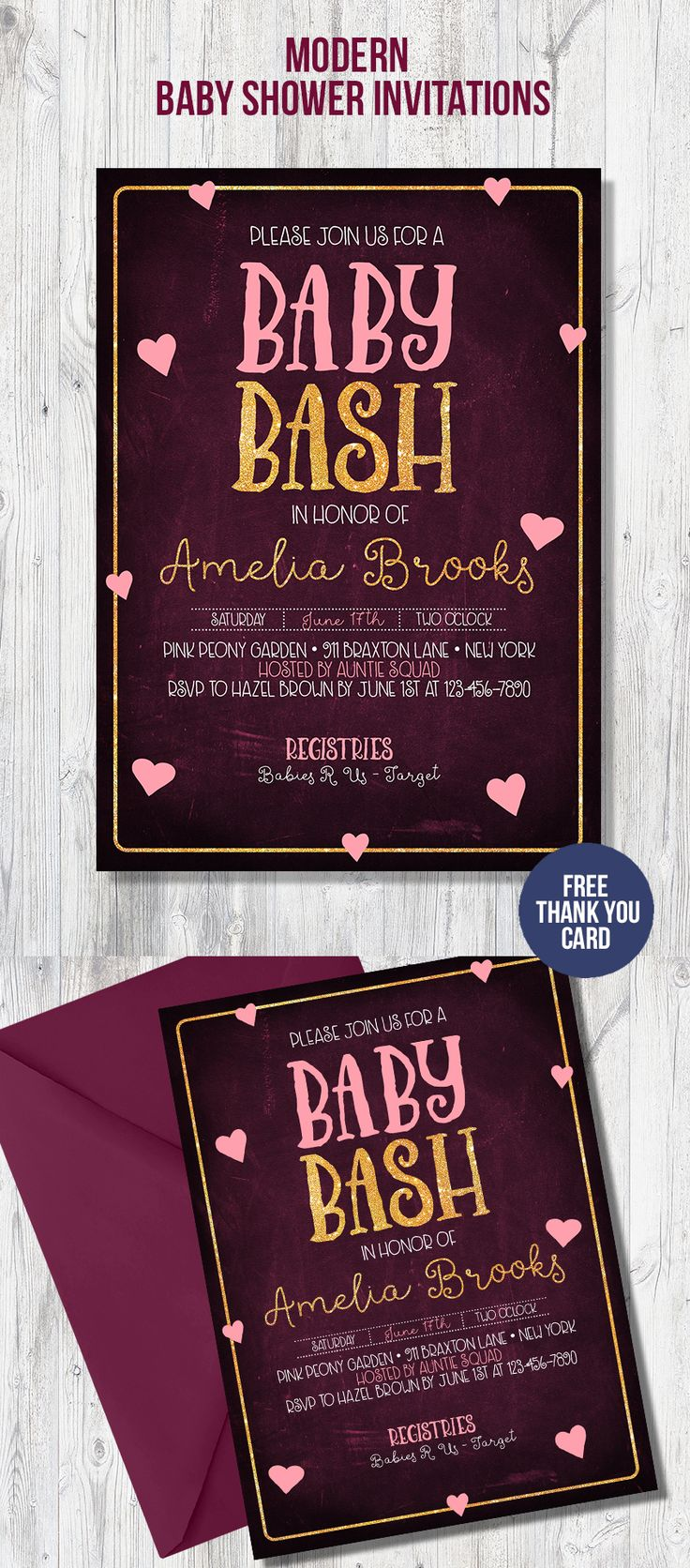 baby shower bbq invitation templates%0A Baby shower invitation for your DIY baby shower  We offer matching party  decorations and games