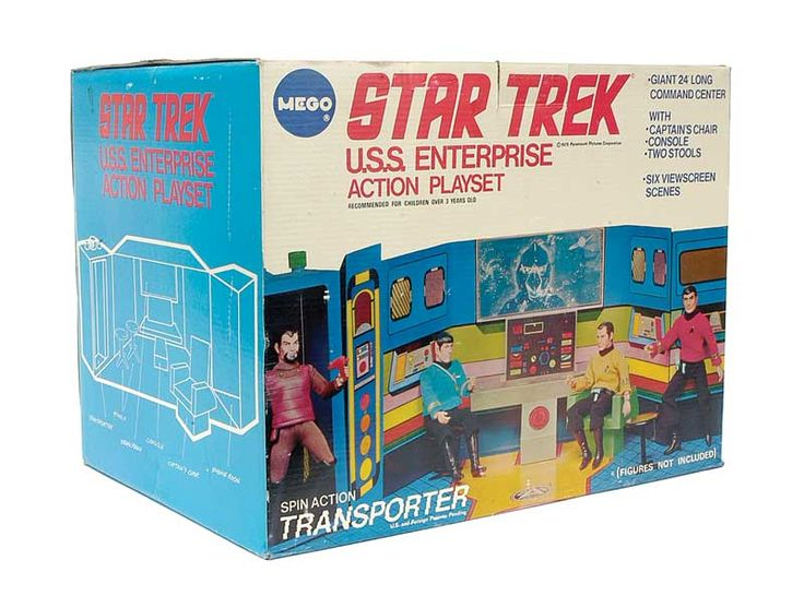 Vintage 1975 action figure playset