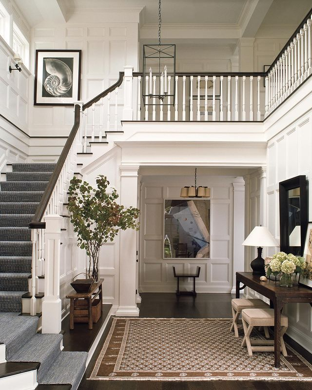Victoria Hagan On Instagram Welcoming Moment From The Past Somehow It Always Feels Fresh Entryway I In 2021 Foyer Decor Entryway Foyer Decorating House Flooring
