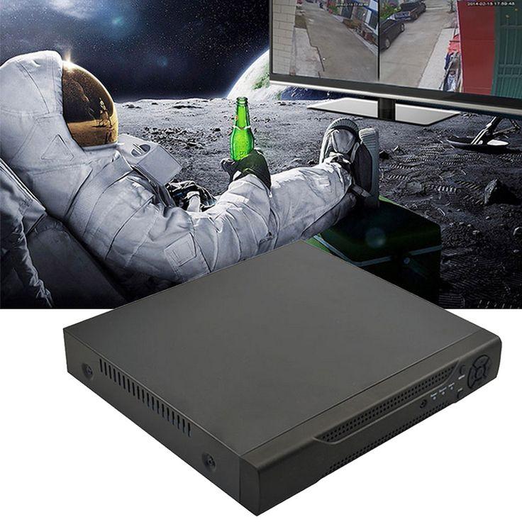 4 Channels 1080P 960H H.264 Network Motion Detection Digital Hard Disk Video Recorder DVR NVR CCTV Security Camera#spy cam