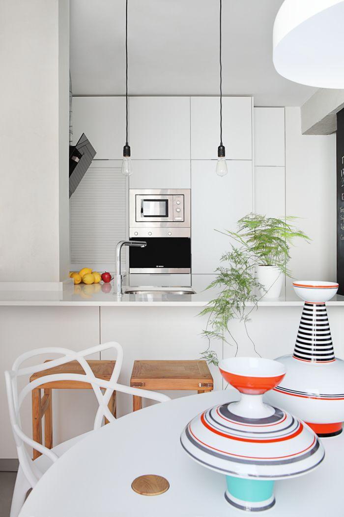 #kitchen #white #dinningroom