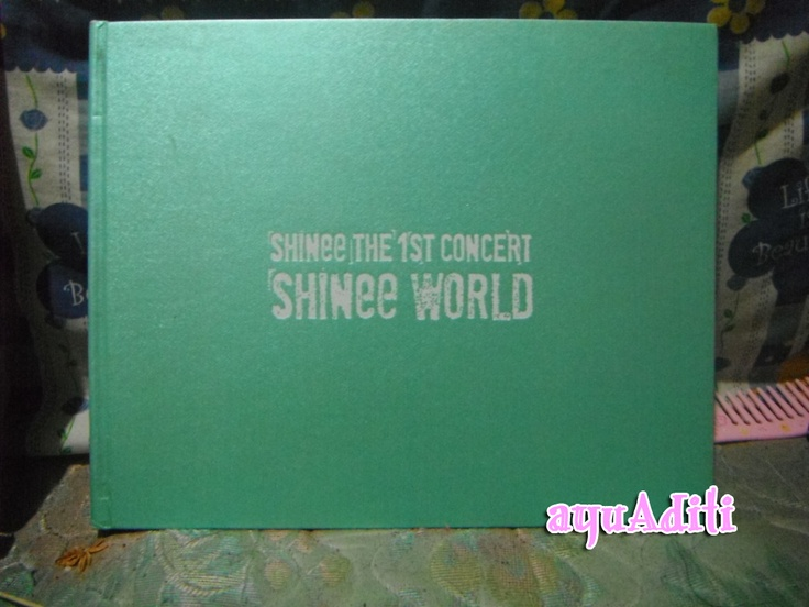 [photobook] SHINee the 1st Concert SHINee World