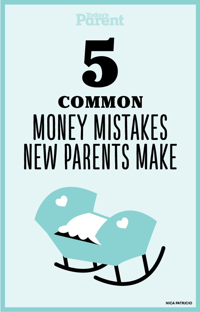 Take a look at these 5 common money mistakes to avoid before your child is born to help ensure you avoid unexpected surprises.